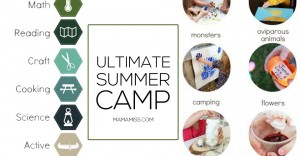 Here's your Ultimate Summer Camp - an amazing resource for you to run your own camp – right in your own backyard!! Hours and hours of fun and learning!