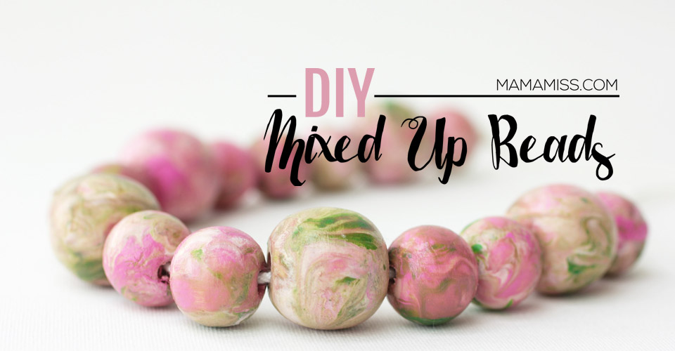 DIY Mixed Up Beads - a fun project to go along with an awesome book! @mamamissblog #vbcforkids