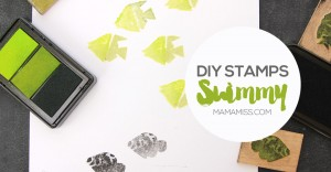 Let's make some super simple DIY stamps with everyday materials! #vbcforkids @mamamissblog