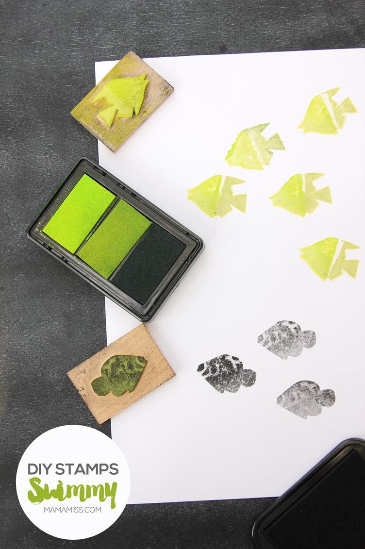 Let's make some super simple DIY stamps with everyday materials! #vbcforkids @mamamissblog