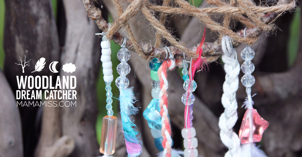 These whimsical Woodland Dream Catchers are sure to help your little one chase away bad dreams.