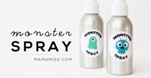 Got Monsters?! I've got some monster spray for that.