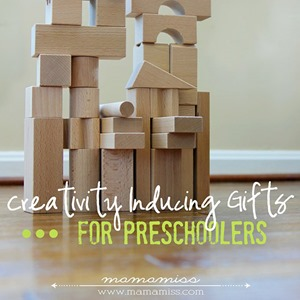 CREATIVITY INDUCING GIFTS FOR PRESCHOOLERS
