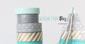 10 Days of a Kid-Made Christmas – Washi Tape Trees