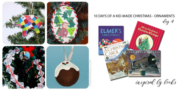 40+ Kid-Made Christmas Ornaments from @mamamissblog