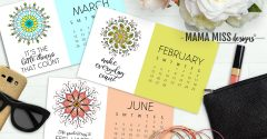 Beautifully Designed Mandalas 2017 Calendar
