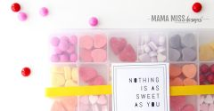 Nothing is as Sweet as You – A DIY Candy Box