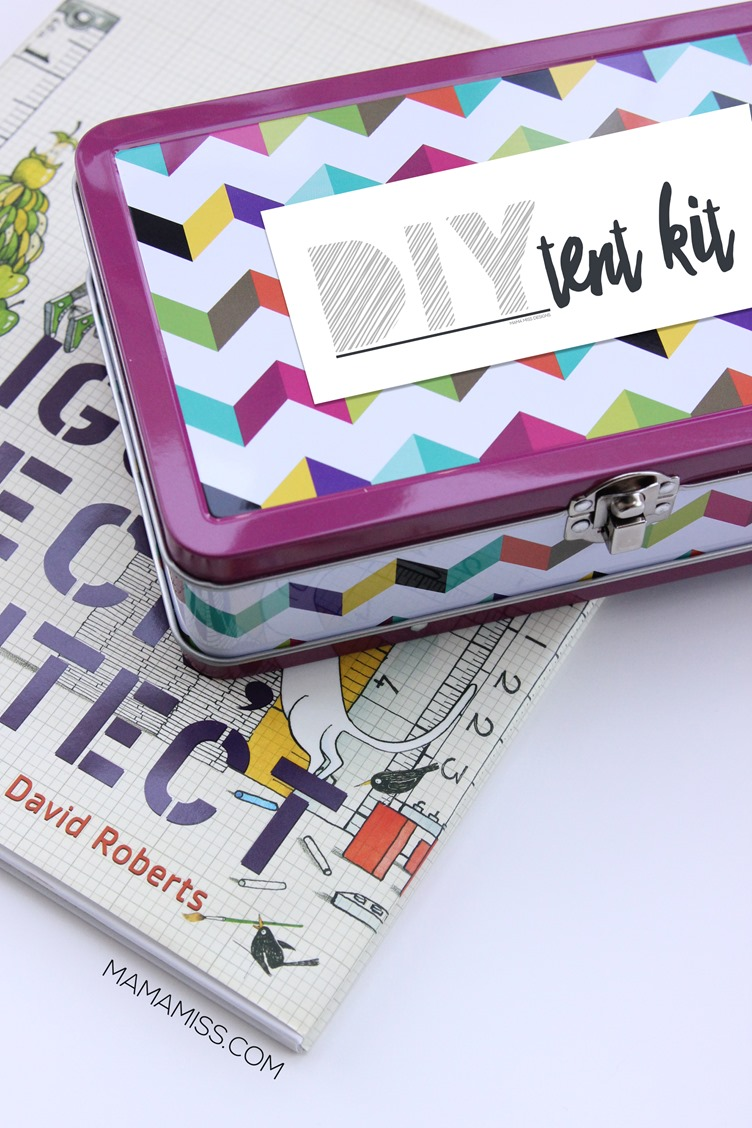 Iggy Peck DIY Tent Kit Gift from @mamamissblog for a #KidMadeChristmas