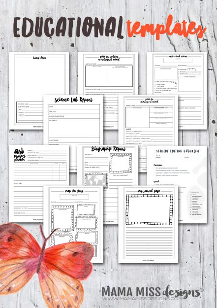 Printable Educational Bundle
